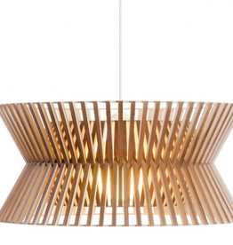 KONTRO 6000 PENDANT LAMP IN WALNUT