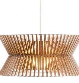 SECTO DESIGN KONTRO 6000 PENDANT LAMP IN WALNUT