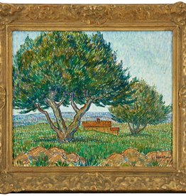 1950'S RURAL SWEDISH LANDSCAPE - OIL ON CANVAS
