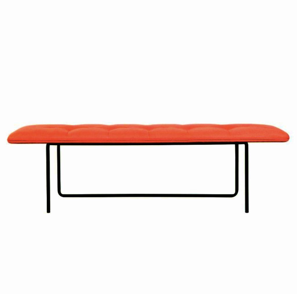 TIPTOE 紅色Diego#76布艺中长凳