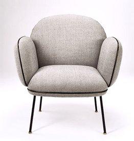 OLLIE 土灰色休闲椅