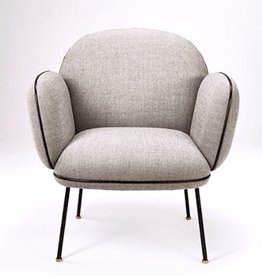 WON DESIGN OLIIE LOUNGE CHAIR IN DUSTY GREY