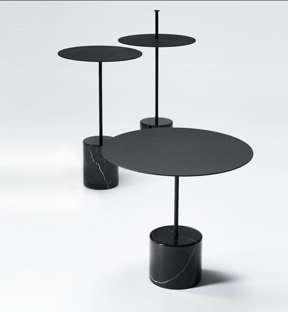 CALIBRE 高大理石边桌连扶手