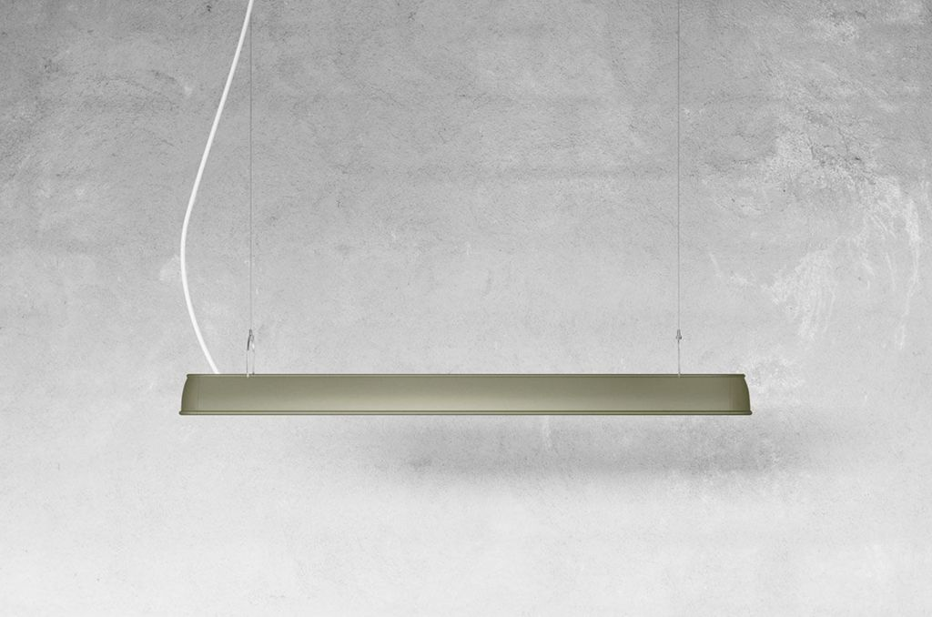 L0111 WORKER 线性单條吊灯