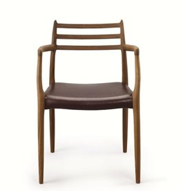 J.L. MØLLERS MODEL 62 MØLLER ARMCHAIR IN OIL TREATED WALNUT
