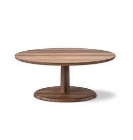 1295 PON 煙薰橡木圓咖啡桌