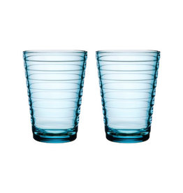AINO AALTO TUMBLER, LIGHT BLUE, 33 CL, 2-PACK