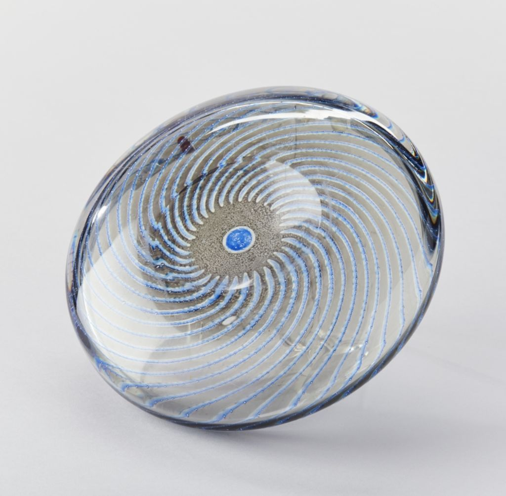 1960s AQUA GRAAL BOWL BY EDWARD HALD