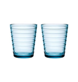AINO AALTO TUMBLER, LIGHT BLUE, 22 CL, 2-PACK
