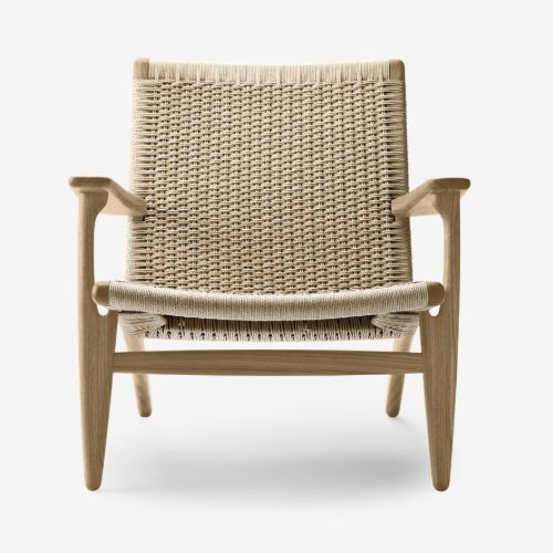 CH25橡木編織休閒椅