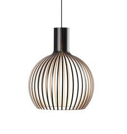 OCTO SMALL 4241 PENDANT LAMP IN BLACK