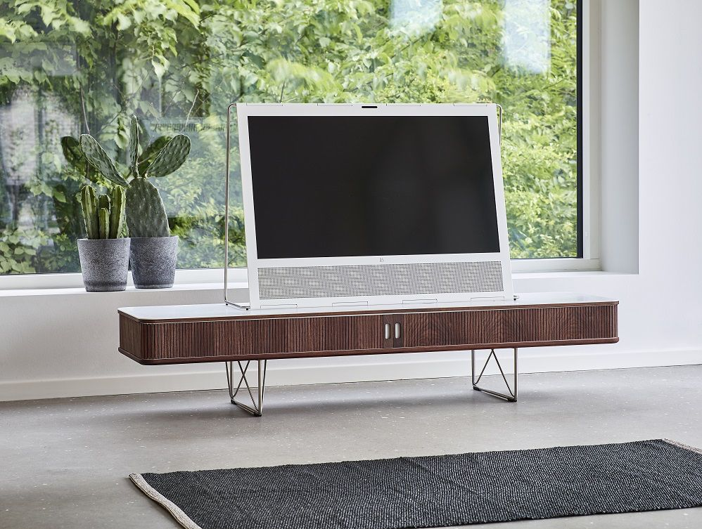 AK 2721 TV TABLE IN WALNUT