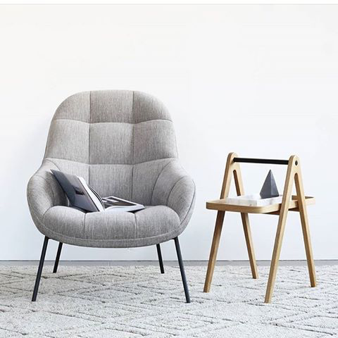 MANGO LOUNGE CHAIR IN LIGHT GREY