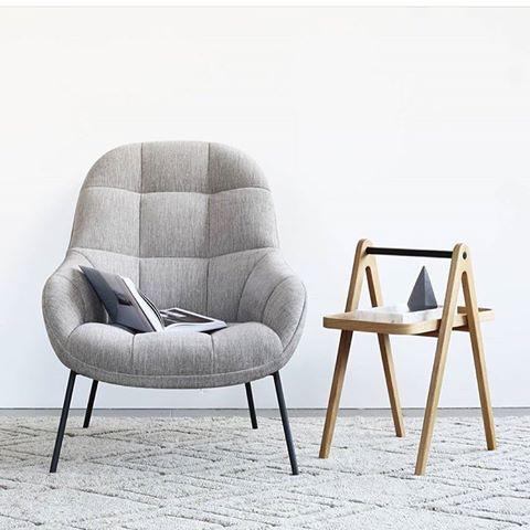 MANGO 淺灰色布料休闲椅