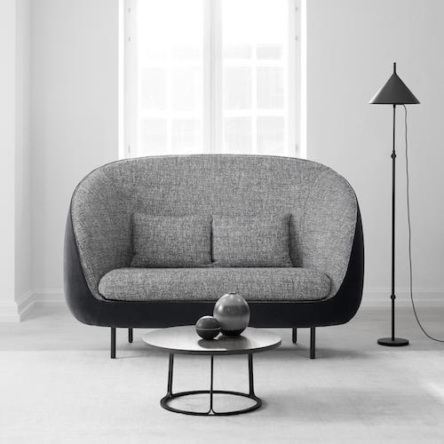 Haiku High Back 2 Seater Sofa By