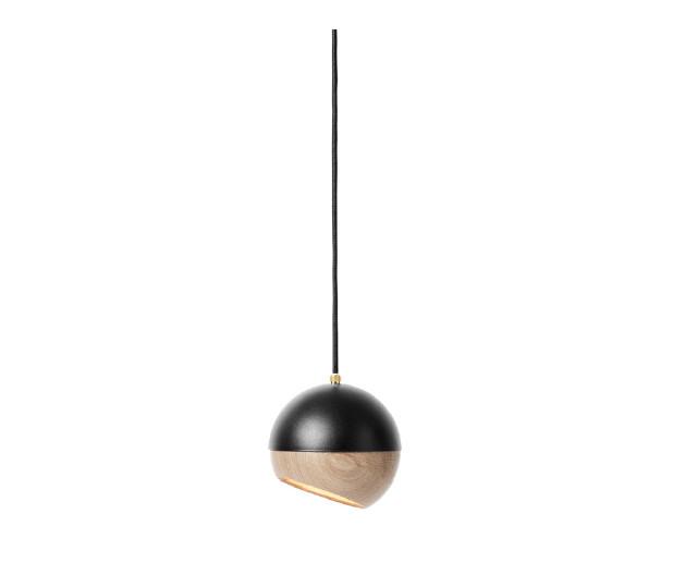 RAY PENDANT LAMP MEDIUM BLACK