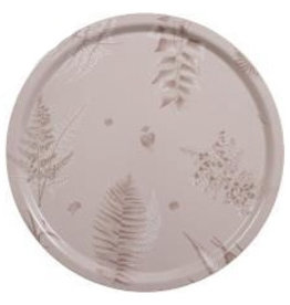 STENSOTA ROSA ROUND TRAY IN BIRCH