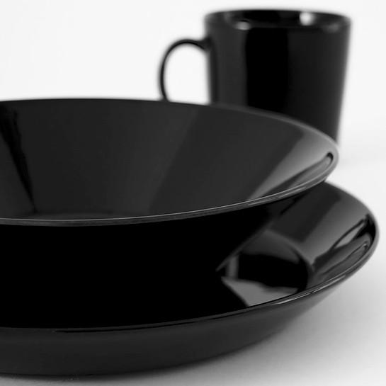 TEEMA BLACK TABLEWARE