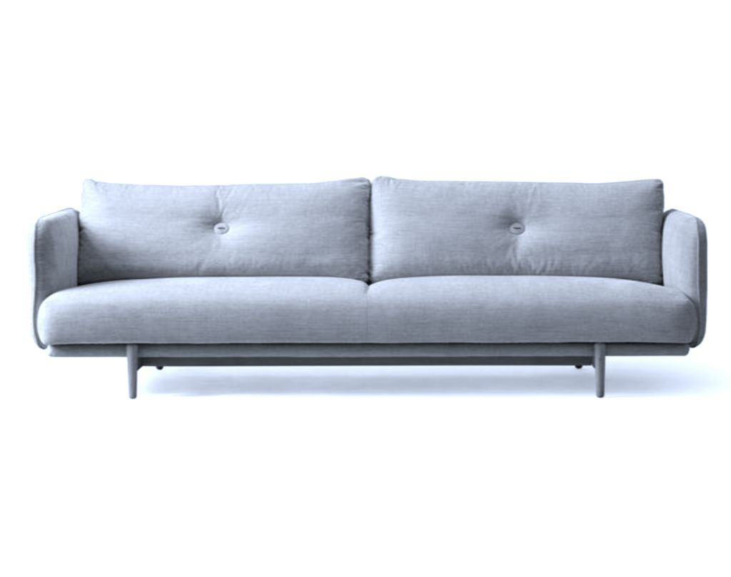 (SHOWROOM ITEM) 3 SEATER HOLD SOFA IN ICE BLUE DIEGO#73