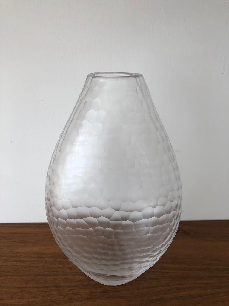 STUDIO 蚀刻玻璃花瓶