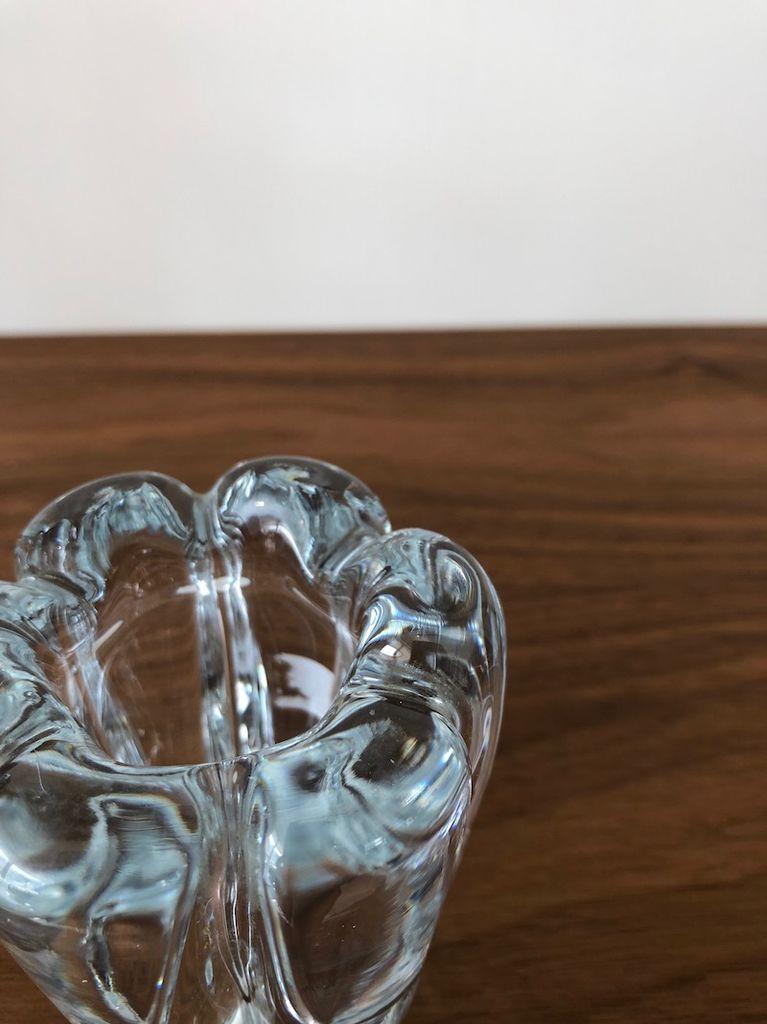 ORREFORS POLARIS 淡蓝色花瓶 (小)
