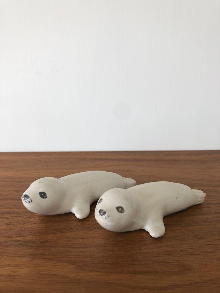 HERMAN A KAHLER的KAHLER 海豹幼崽一对