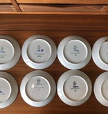 ROYAL COPENHAGEN ANNUAL MOTHER'S DAY PLATES 1971-1978