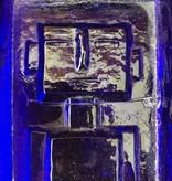 HOGLUND 钴蓝色玻璃牌匾