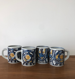 ROYAL COPENHAGEN SMALL ANNUAL ANNIVERSARY MUGS 1973 (SMALL)