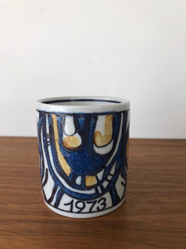 ROYAL COPENHAGEN 1973 周年小水杯