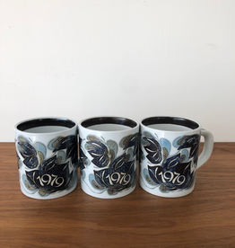 ROYAL COPENHAGEN SMALL ANNUAL ANNIVERSARY MUGS 1979 (SMALL)
