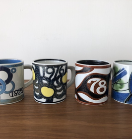 ROYAL COPENHAGEN SMALL ANNUAL ANNIVERSARY MUGS 1972-1981 (SMALL)