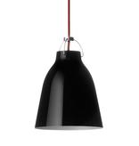 CARAVAGGIO 黑色高光泽漆鋼吊灯