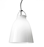 CARAVAGGIO PENDANT LIGHT WITH OPAL GLASS SHADE