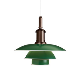 PH 3 1/2-3 PENDANT LAMP IN GREEN