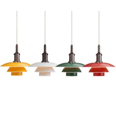 PH 3 1/2-3 PENDANT LAMP IN GREEN