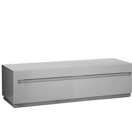(DISPLAY ITEM) STG150 STOW MEDIA BENCH IN LIGHT GREY