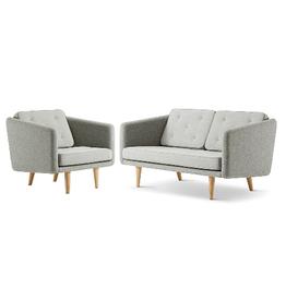 NO. 1 兩座位沙發及椅