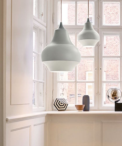 CIRQUE PENDANT LAMP IN GREY
