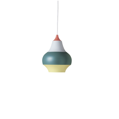 CIRQUE PENDANT LAMP, TOP IN RED