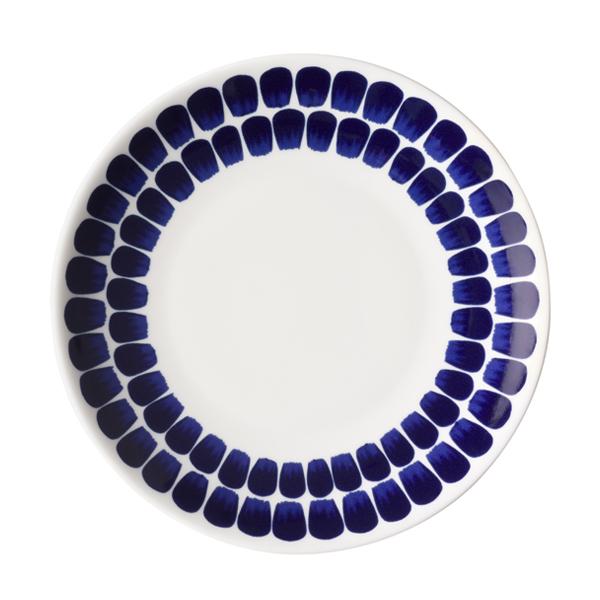 24H TUOKIO PLATE, FLAT, COBALT BLUE, 20 CM