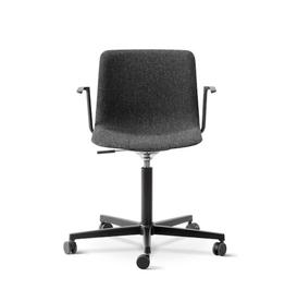 4032 PATO 灰色布料辦公室有柄椅