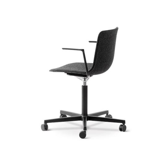 4032 PATO 灰色布料扶手辦公椅