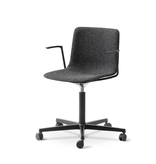 4032 PATO OFFICE ARMCHAIR IN GREY FABRIC