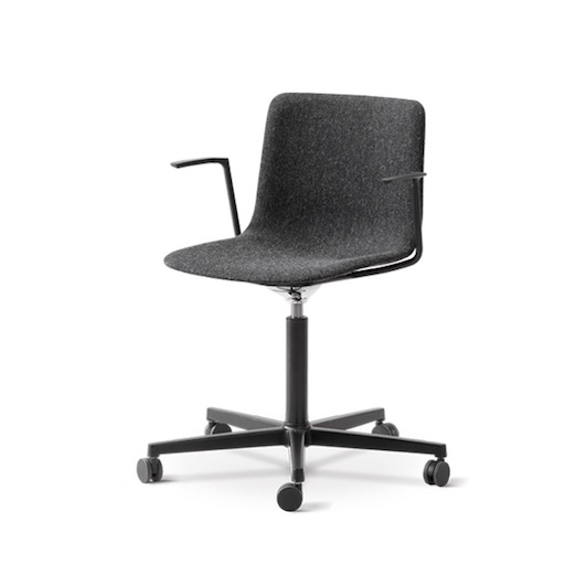 4032 PATO 灰色布料辦公室有柄椅 (陳列品)