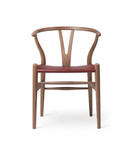 CH24P WISHBONE 山羊皮坐墊椅子 (生日特別版)