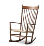 J16 75TH ANNIVERSARY ROCKING CHAIR IN WALNUT