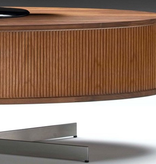 AERO TV UNIT IN WALNUT, OIL FINISH