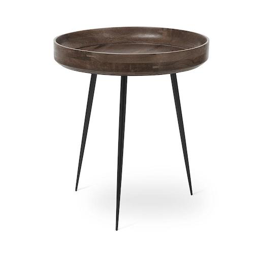 MANGO BOWL TABLE IN SIRKA GREY FINISHED MANGO WOOD