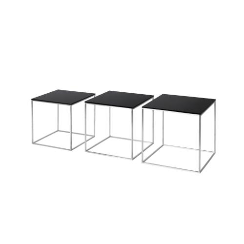 PK71 三張嵌套边桌